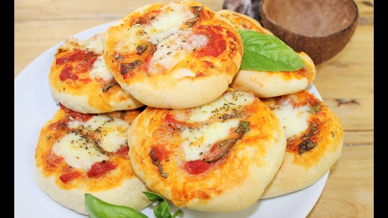 PIZZETTE FACILI E VELOCI PRONTE IN 40 MINUTI ricetta facile pizza e pizzette