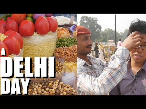 Delhi, India. The Best Way to Travel: What I ate / What I did. TRAVEL VLOG