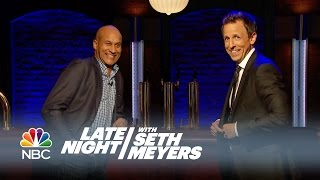 Flirting Tips from Keegan-Michael Key and Seth Meyers - Late Night with Seth Meyers