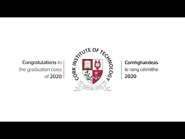 CIT Department of Computer Science MSc in Artificial Intelligence Conferring Ceremony 2020