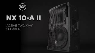 RCF NX 10-A II - ACTIVE TWO-WAY SPEAKER