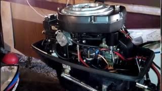 Запуск после зимы лодочного мотора Selva 30 Baltmotors 30 Zongshen(На видео расконсервация мотора Baltmotors 30, он же Selva 30, а также Zongshen-Selva 30. Завёлся моментально. Мотор надёжный..., 2016-05-21T21:17:47.000Z)