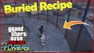 Search The Area For The Buried Recipe GTA V Online Tuners DLC - Elysian Island - Agency Contract