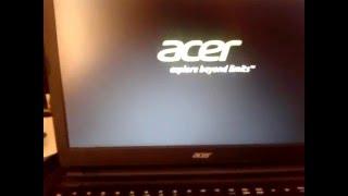 как установить windows 7 на acer V5 561