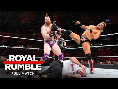 FULL MATCH - Miz & Shane McMahon vs. The Bar – SmackDown Tag Team Titles Match: Royal Rumble 2019