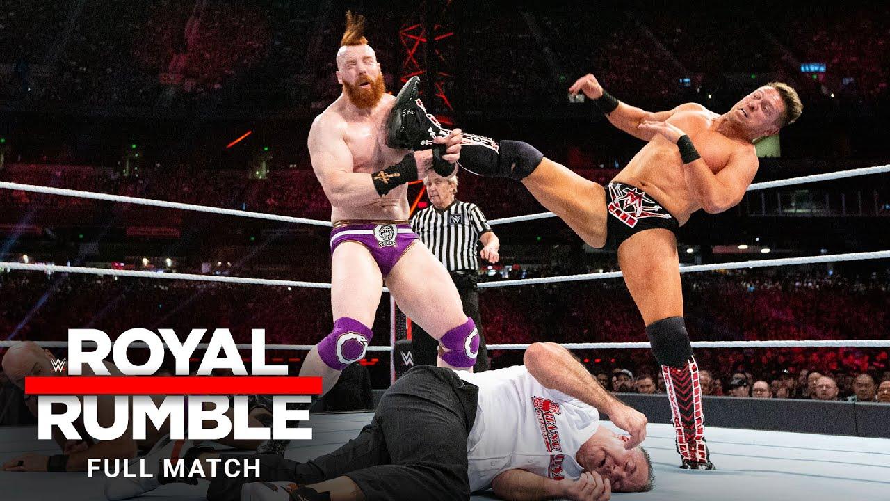 FULL MATCH - Miz & Shane McMahon vs. The Bar  – SmackDown Tag Team Titles Match: Royal Rumble 2019