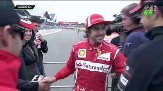 2011 F1 British Grand Prix - drivers parade