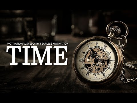 The Value of TIME – One of the Most Motivational Speeches Ever (very powerful!)