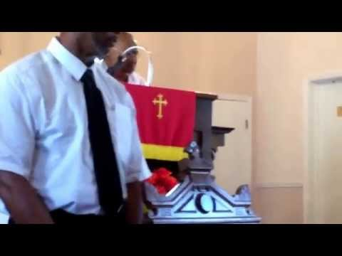 Minister Harold Stateman 6 September 2015 church service