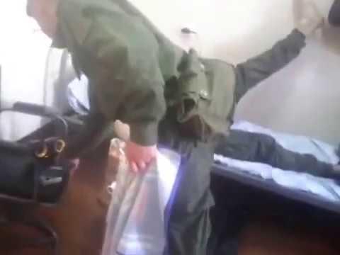 Русня обслуживает ингуша в армии