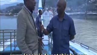 Cyprien Wetchi sur le lac Kivu: les entrepreneurs du Kivu sont discrets