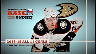 Ondrej Kase #25 ● All 11 Goals 2018-19 Season Hd