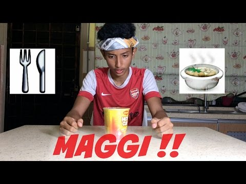 Typical Maggi Hot Cup.