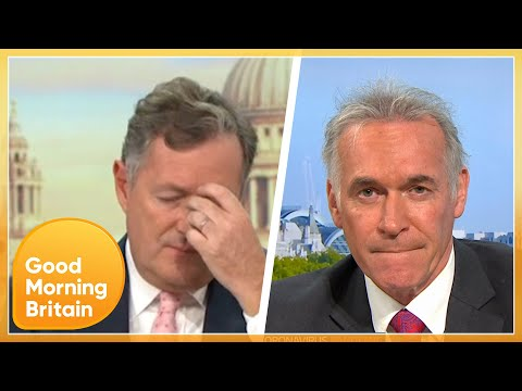 Piers Morgan Despairs Over Second Lockdown Mixed Messaging   Good Morning Britain