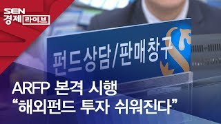 """ARFP 본격 시행 """"해외펀드 투자 쉬워진다"""""""
