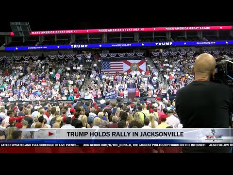 FULL EVENT: Donald Trump MASSIVE Rally in Jacksonville, FL 8