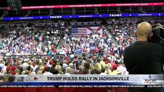 full event donald trump massive rally in jacksonville fl 8 3 16