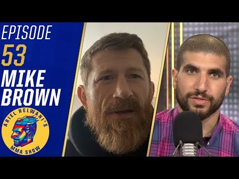 Mike Brown talks training Jorge Masvidal for flying knee vs. Ben Askren | Ariel Helwani's MMA Show