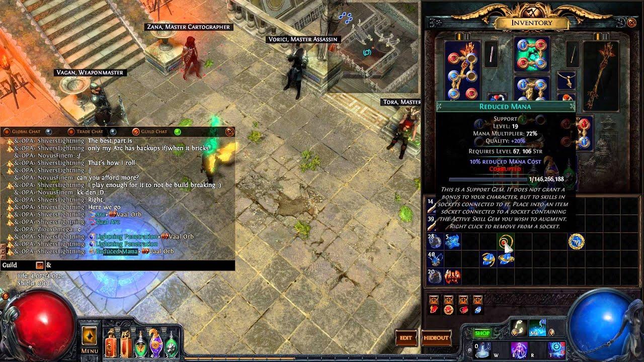 Path of Exile Vaal Orb Guides - u4gm com
