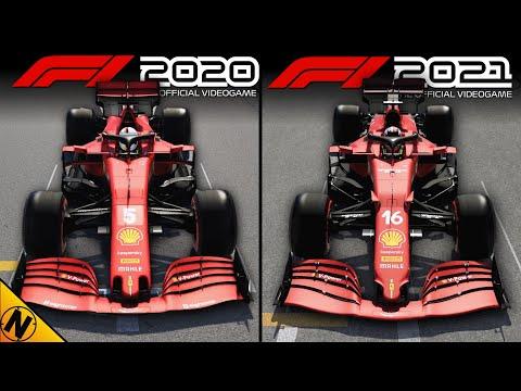F1 2021 vs F1 2020   Direct Comparison