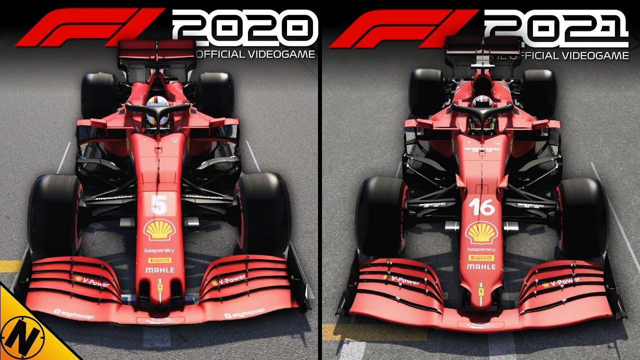 F1 2021 vs F1 2020 | Direct Comparison