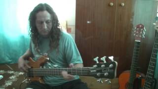 Big Apple Dreamin-Alice Cooper Bass guitar cover