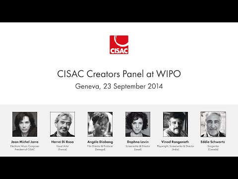 CISAC Creators Panel at WIPO