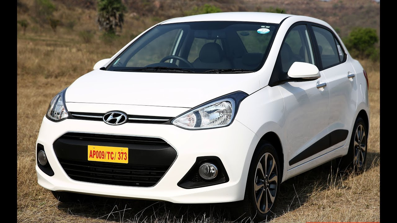 C Max Grand Review >> 2016 Hyundai Xcent Exterior And Interior : Review - YouTube