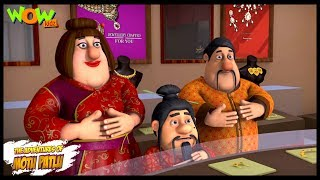 Motu Patlu New Episode  Hindi Cartoons For Kids  Welcome To Furfurinagar  Wow Kidz