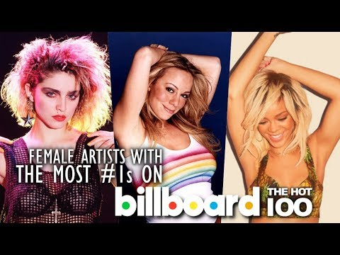 Female Artists with the Most #1s on Billboard Hot 100