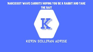 Narcissist Wave Carrots Hoping You Be A Rabbit And Take The Bait