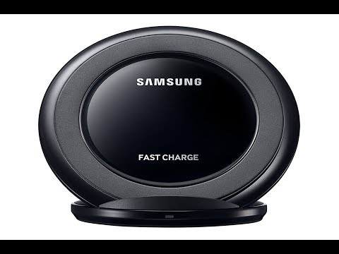 Samsung Fast Charge Wireless Charging Stand W/ AFC Wall Charger