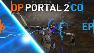 Making an easy job difficult | Portal 2 - Cripple COOP with Comer - EP. 6