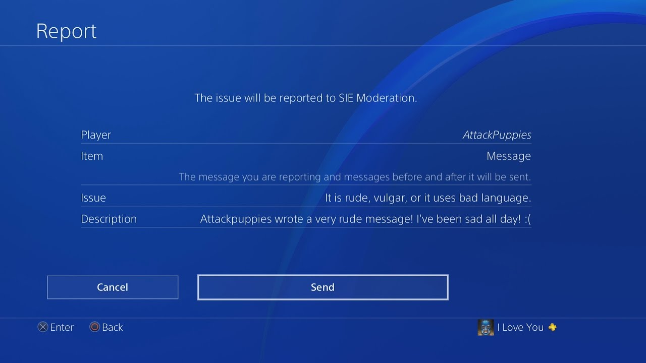 How To Report Someone On Ps4 Get Players Banned Youtube