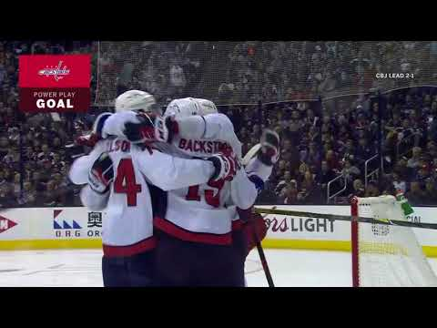 Washington Capitals vs Columbus Blue Jackets - April 19, 2018 | Game Highlights | NHL 2017/18