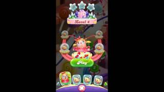 NEW GAME soft launch 2017!!! Candy Crush Friends Saga level 1 - level 5