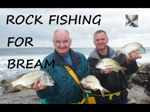 Rock Fishing For Bream    Fishing & Cooking