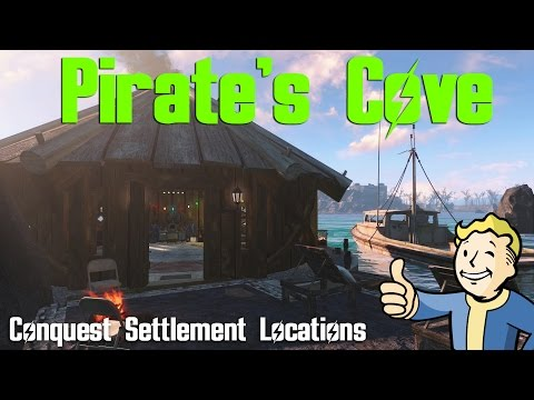 Fallout 4 Conquest Settlement Locations: Pirate's Cove