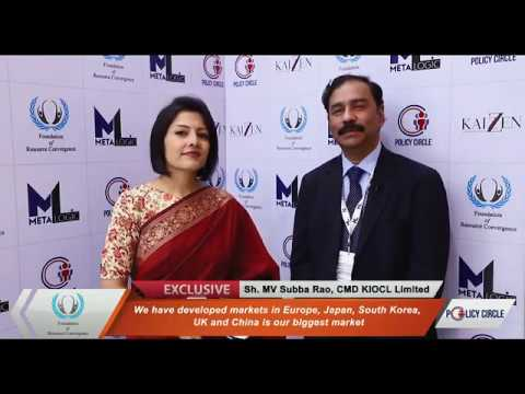 Exclusive interview with MV Subba Rao, CMD of KIOCL