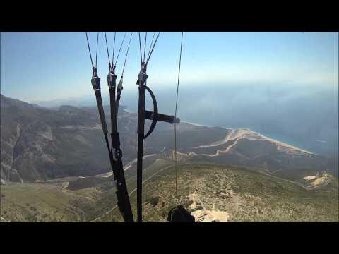 Albanian Paragliding LLogara XC OZONE Delta2  30 08 2015