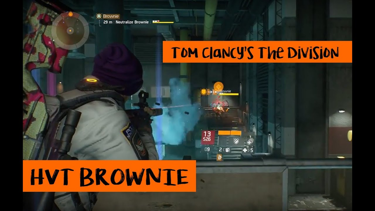 Tom Clancys The Division - HVT Brownie - Patch 1.2 - YouTube