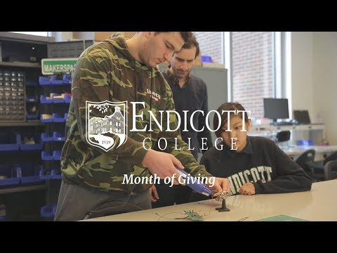Endicott College Month of Giving 2018 - Campus Resources