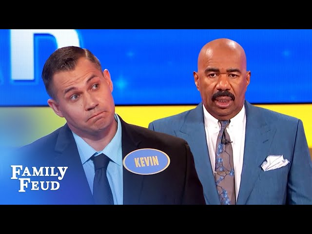 Here's what a man would sell his soul for! | Family Feud