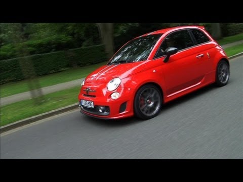 test abarth 695 tributo ferrari fiat 500 youtube. Black Bedroom Furniture Sets. Home Design Ideas