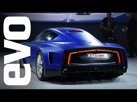 Volkswagen XL1 Sport at Paris 2014 | evo MOTOR SHOWS