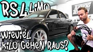 RS4 Limo - Alle Matten und Kabel sind raus! Wieviel Kilo konnten wir einsparen? | Philipp Kaess |
