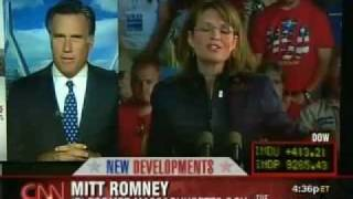 Mitt Romney Struggles to Answer If Palin is Qualified