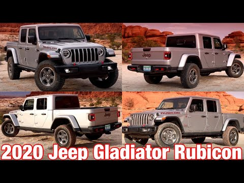 Mopar Today 2019 Easter Jeep Safari Featuring The 2020 Jeep Gladiator Rubicon Production Model