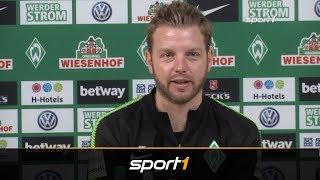 Florian Kohfeldt berichtet von einem HSV-Spion beim Training von Werder Bremen   SPORT1