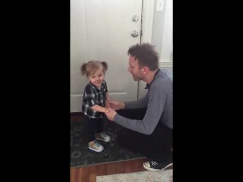 2-year-old helps sing Gilmore Girls theme